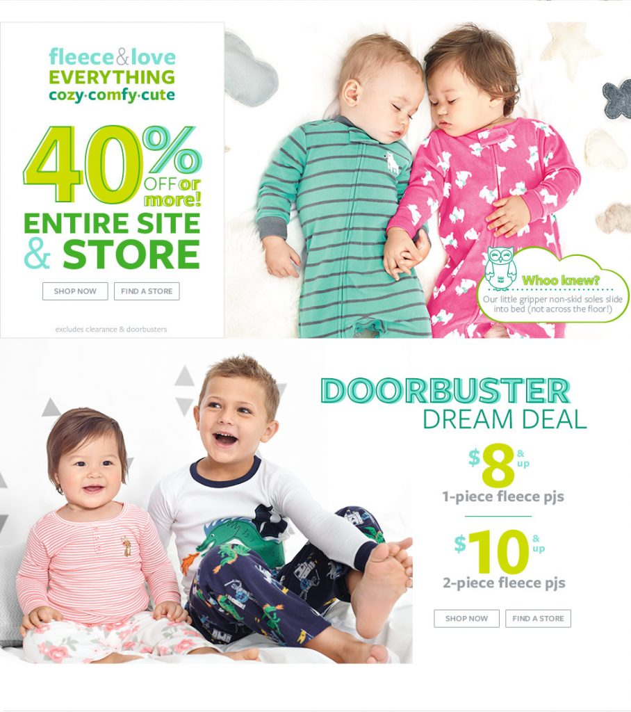carters doorbuster deal