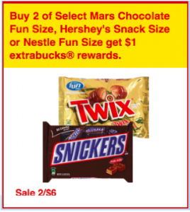 cvs mars fun size