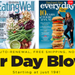 dollar day magazine blow out