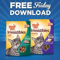 free friday meow mix