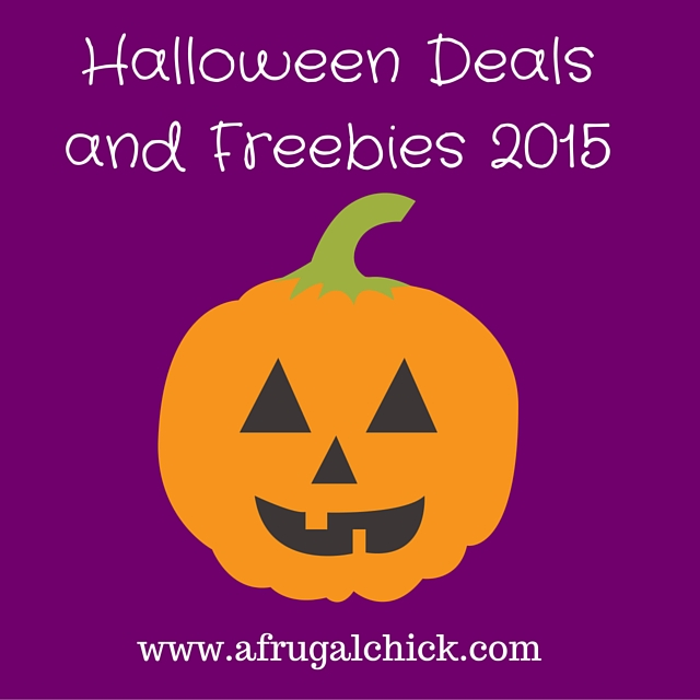 halloween deals and freebies