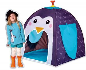 penguin pop up tent