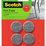scotch felt pads