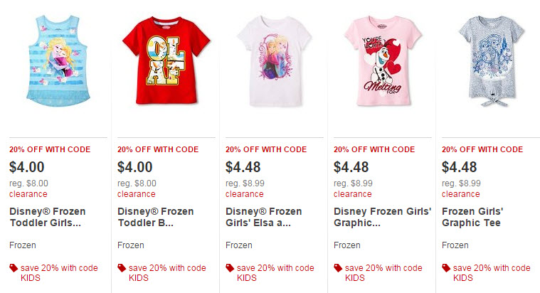 89f6d484e58 Target.com  Extra 20% Off Target Kids Clearance Clothes