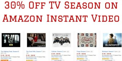 30 Off TV Season on Amazon Instant Video (2)