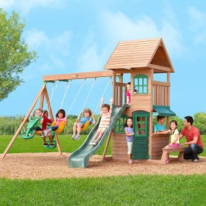 Walmart Big Backyard Windale Wooden Swing Set 399 Was 700