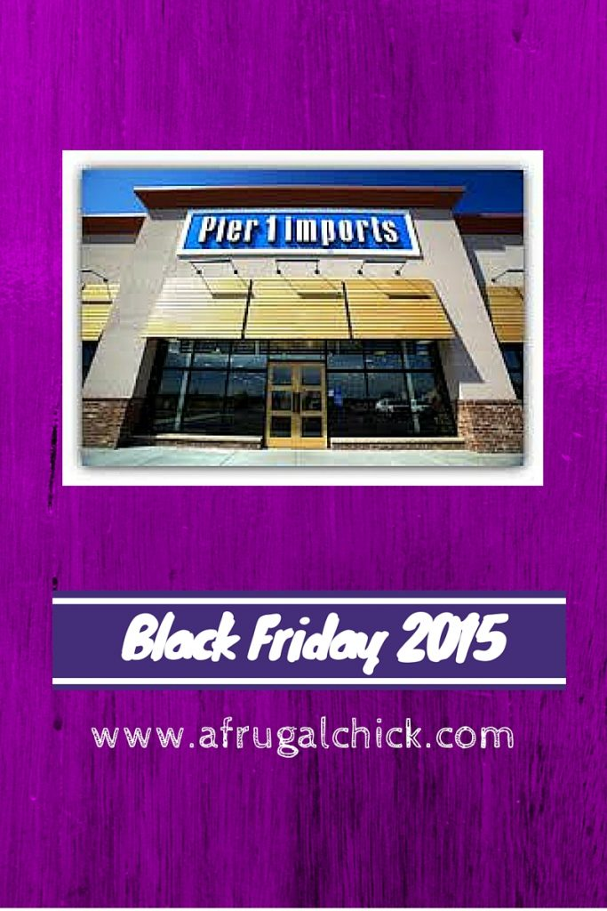 Black Friday 2015 Ad Pier1 Imports