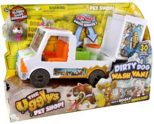 Ugglys Pet Shop Dirty Dog Wash Van