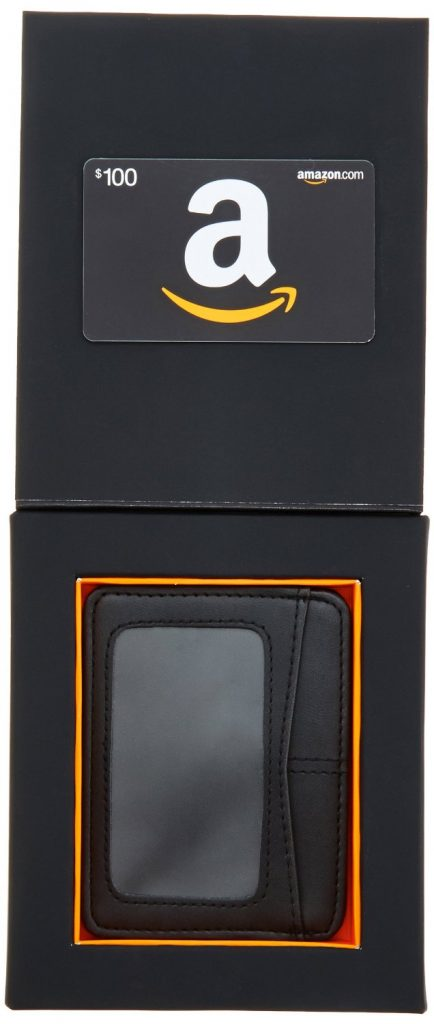 amazon $100 gift card with wallet