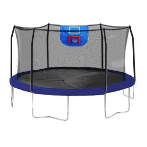 Amazon 15 Foot Trampoline With Safety Enclosure And