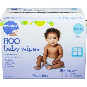babies r us 800 count wipes