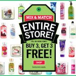 bath and body works buy 3 get 3 free