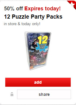cartwheel 12 party packs