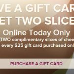cheesecake factory cyber monday