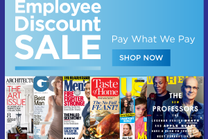 employee discount mag sale