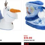 kohls frozen slippers