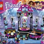 lego friends pop up stage