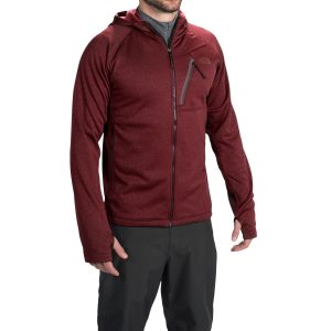 north face canyonlands hooded fleece jacket