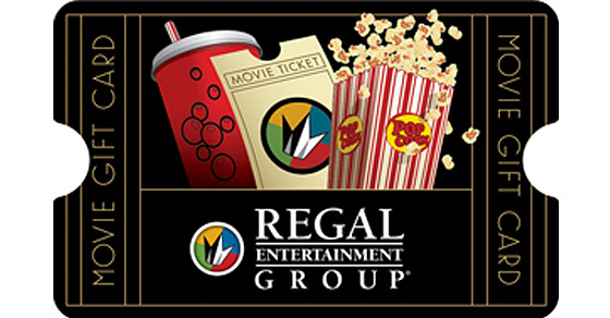 regal movie gift card