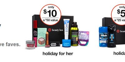 target beauty box him and her