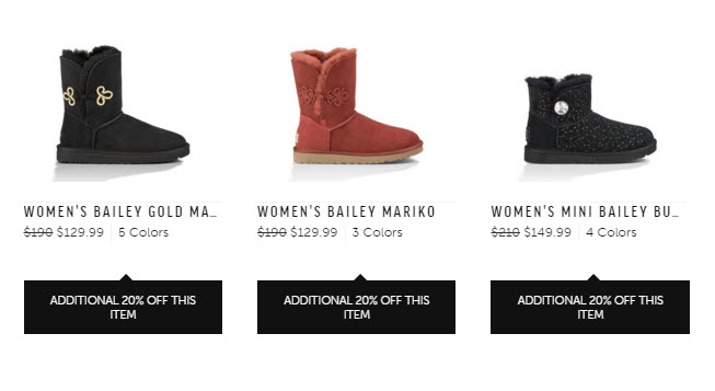 ugg cyber monday examples