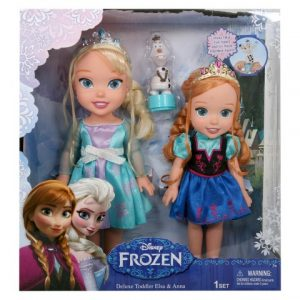 Disney Frozen Deluxe Toddler 2 Pack with Olaf