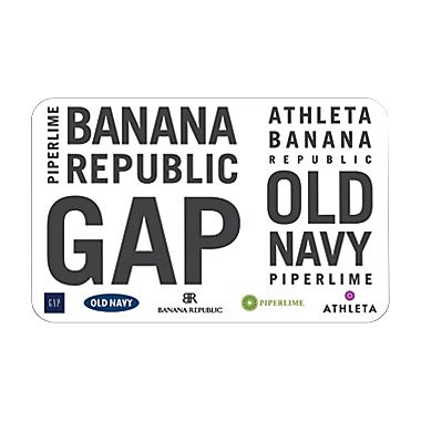 Apr 03,  · However, there are certain types of gift cards that may come from Gap Inc. corporate or from a company-sponsored fund-raiser (for schools and such), which allow the gift card to be used at any of the major 3 Gap Inc brands (Old Navy, Gap, Banana Republic).Status: Resolved.