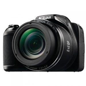 Nikon Coolpix L340 20.2 Mp Digital Camera - Black (26484)