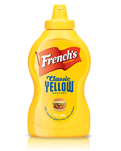 french's yellow mustard