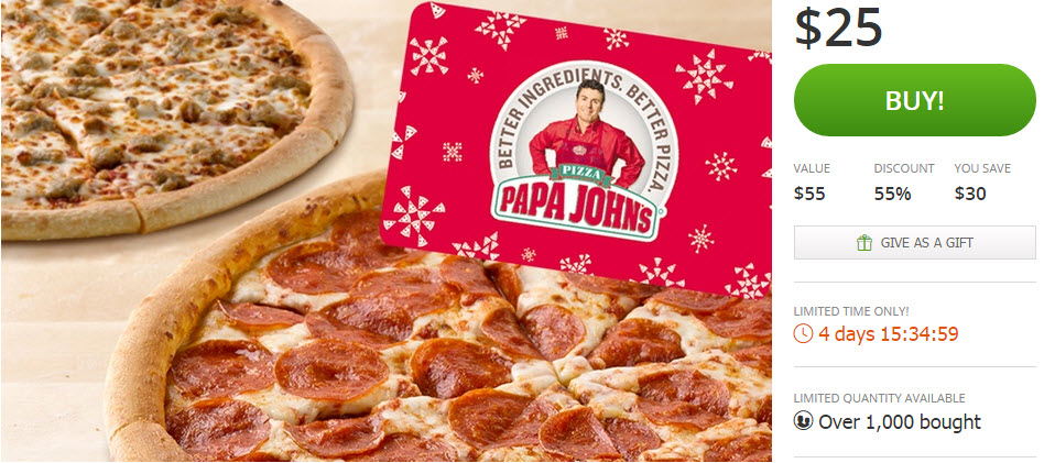 06 Dec, Papa Johns Promo Codes. 06 Dec, Find the latest Papa Johns promo codes right herelfilesvj4.cf have added the full list of the latest Papa Johns promo codes and coupon codes in the comments section below.