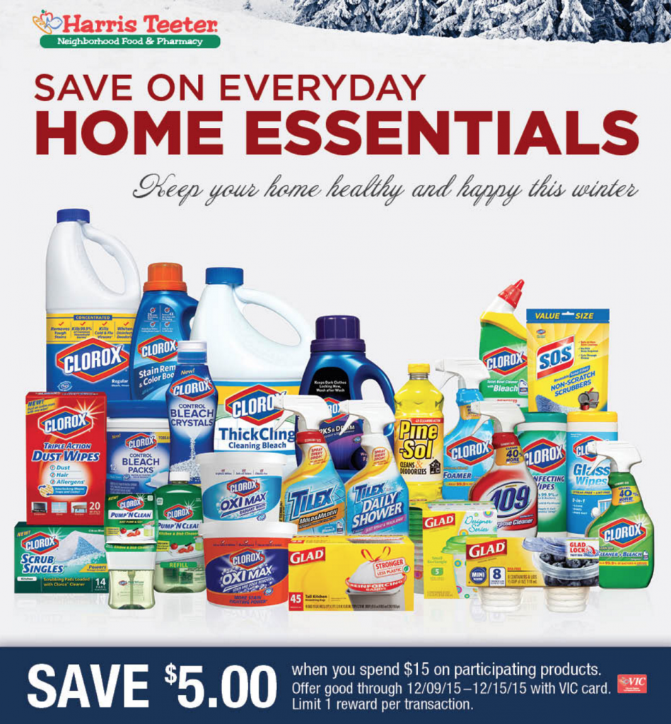 harris teeter home essentials sale