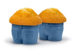 jeans baking cups
