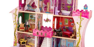 kid craft once upon a time dollhouse