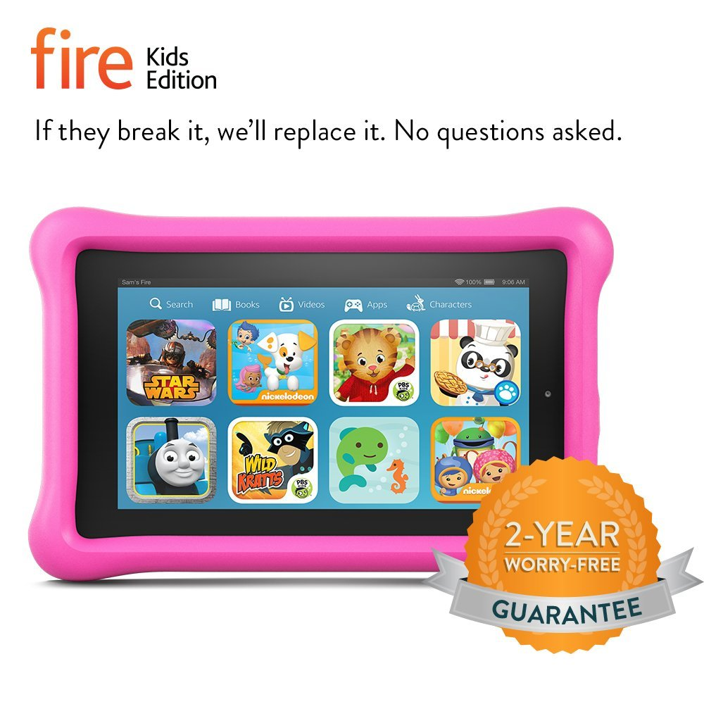 Amazon Kindle Fire Kids Edition Tablet 89 99 10 Off