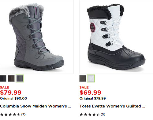 48f00d55e4 Kohl's: $10 off of $50 Cold Weather Stuff Plus FREE Shipping and ...