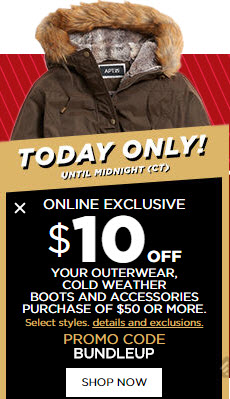 da5b18ae4d Kohl's: $10 off of $50 Cold Weather Stuff Plus FREE Shipping and Kohl's  Cash (Boots or Jackets Anyone?)