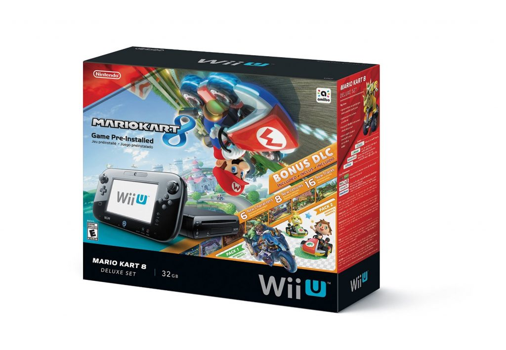 amazon nintendo wii u 32gb mario kart 8 pre installed deluxe set. Black Bedroom Furniture Sets. Home Design Ideas