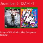 microsoft store xbox one games sale