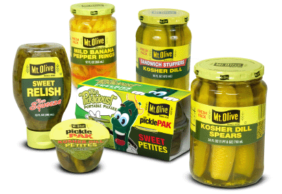 mt olive pickles