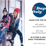 old navy jean sale