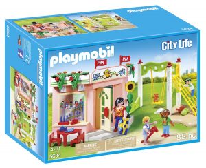 playmobil preschool playground