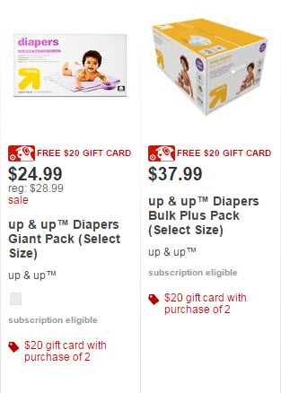 up and up diapers sale