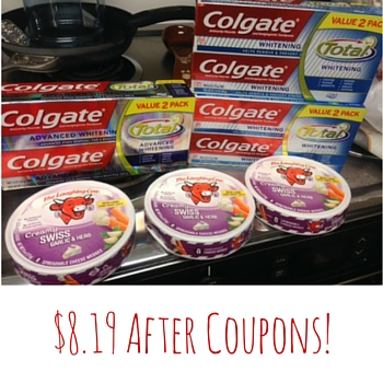 $8.19 After Coupons!