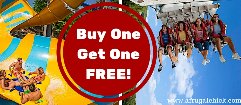Busch Gardens Williamsburg Buy One Get One Free Passes