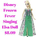 Disney Frozen Fever Singing Elsa Doll 8.09