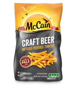 McCain Craft Beer Battered Potatoes Thin Cut