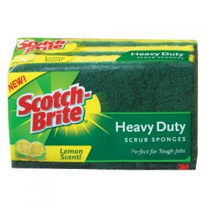 Scotch Brite 9 Pk Heavy Duty Scrub Sponge