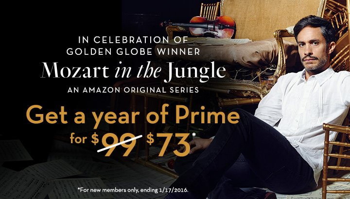 amazon prime sale mozart