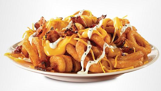 arbys loaded curly fries