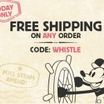 disney free shipping steamboat willie